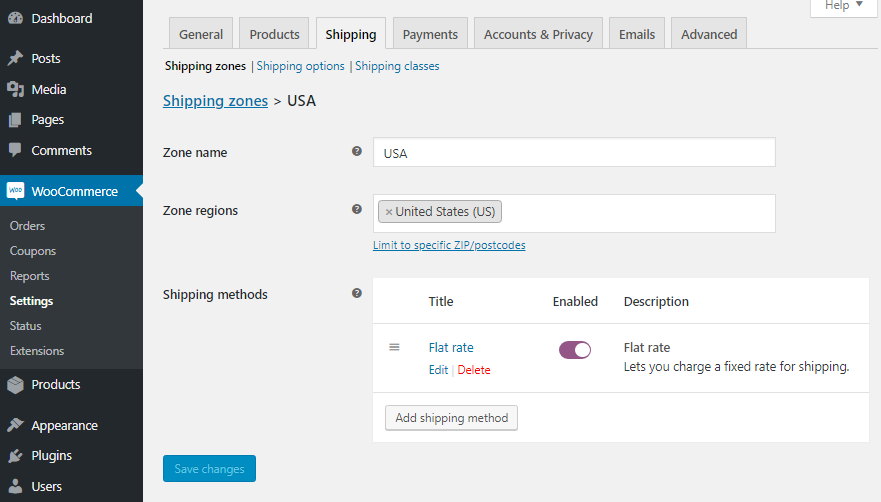 Shipping address option missing in WooCommerce checkout  How do I
