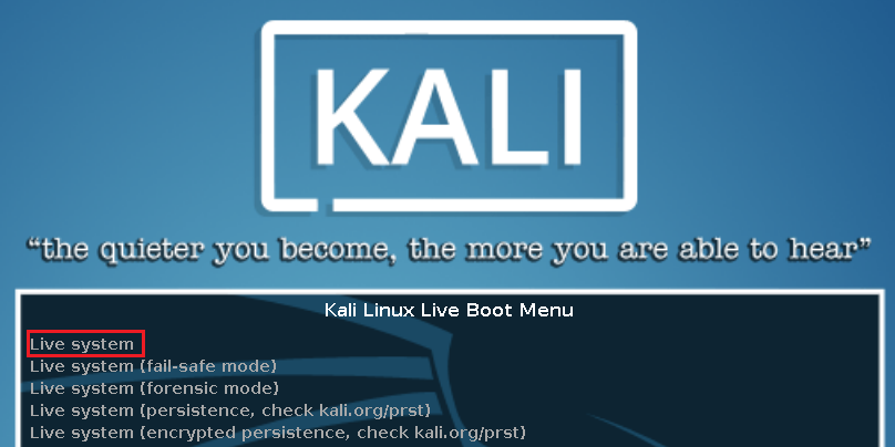 Guide: Kali Linux 2017 Live USB with Encrypted Persistence (Windows