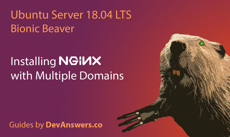 Installing Nginx with Multiple Domains on Ubuntu 18.04 Bionic Beaver