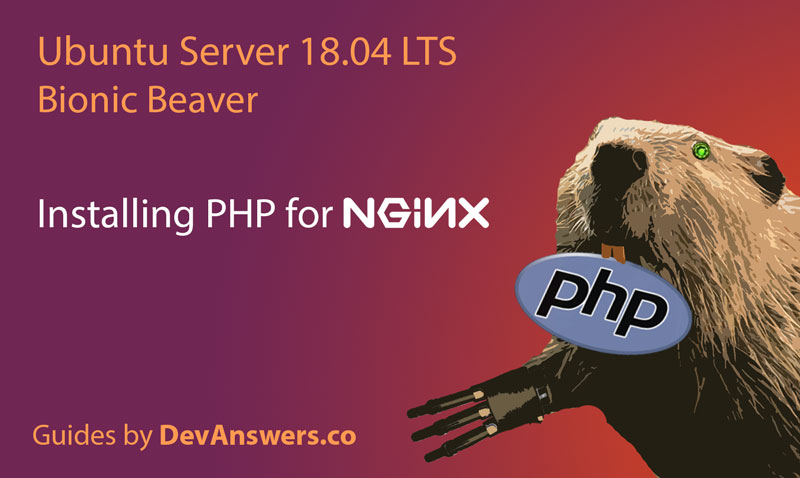 Installing PHP for Nginx on Ubuntu 18.04