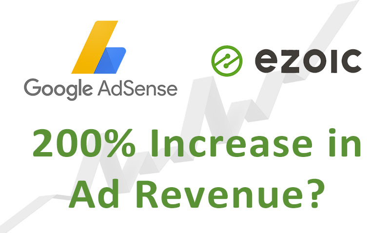 Increase AdSense Revenue by 200% with Ezoic