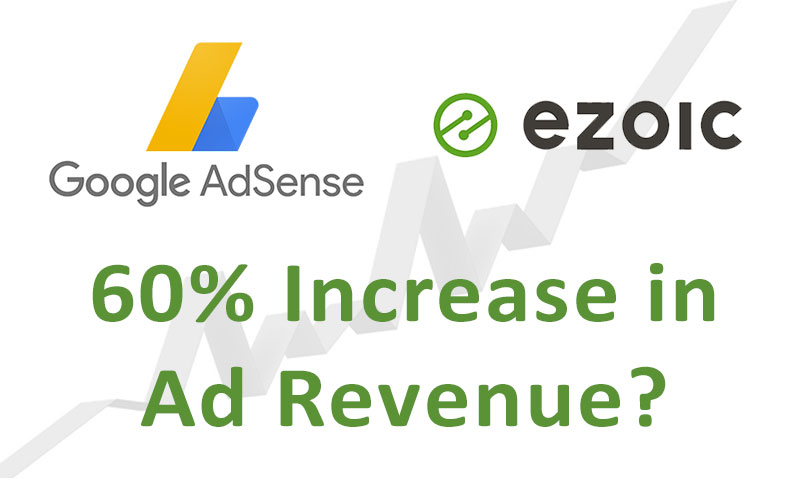 60% Increase in AdSense Revenue with Ezoic