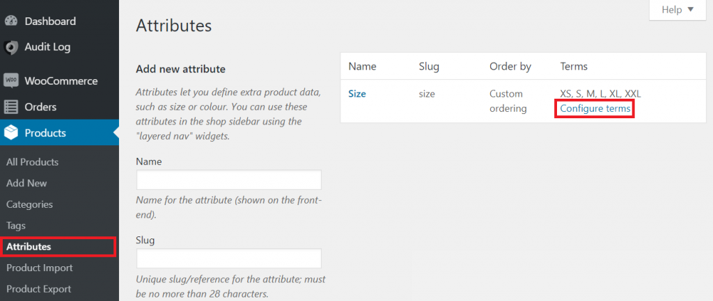WooCommerce custom sort order for attributes and variations